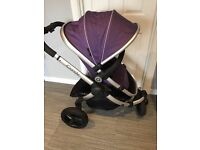 *Icandy Peach Jogger Pushchair In Loganberry*
