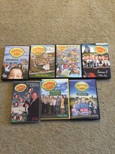 All 6 seasons of corner gas and the movie