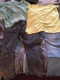 Women's clothes bundle.