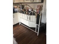 Nearly new Rustic style headboard frame