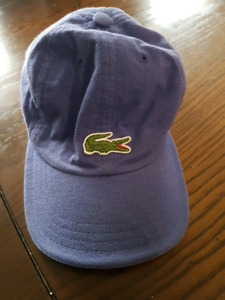 Vintage Lacoste Purple Hat
