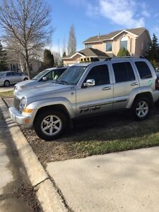 REMOTE START, safetied, 05 JEEP LIBERTY, clean title  $4,995