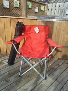 President's Choice outdoor folding chair - red