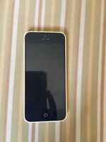 Yellow 16gb IPhone 5c with Tbaytel