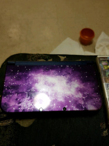 New nintendo 3ds galaxy, charger and game