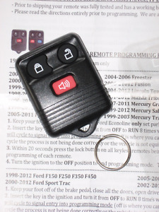 Remote Key Fob for Ranger (and other various Fords)