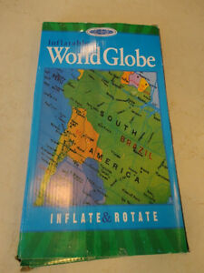 NEW Inflatable World Globe for Kids - Teach , learn and have Fun Kitchener / Waterloo Kitchener Area image 2