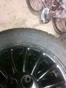 Grand AM winter tires and rims Kitchener / Waterloo Kitchener Area image 7