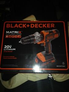 Black + Decker 20 v lithium drill