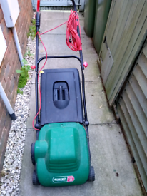 Qualcast eclipse 320 electric rotary lawnmower