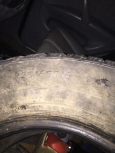 235 65 R16 STUDDED WINTER ARCTIC CLAW TIRES (3)