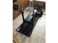 Gorilla Sports Weight bench & 30kg