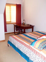 Shared accommodation in a two bedroom executive unit