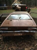 FORD PINTO - Field Find - Engine off, rest of car is parts/metal