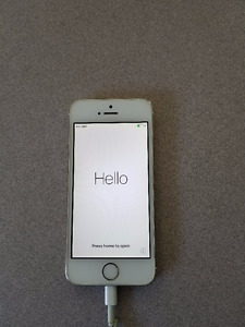 iPhone 5s Gold 64 GB - Great condition!