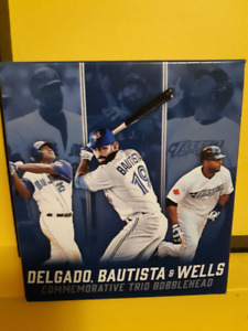 8f6063548 Blue Jays Triple Bobblehead - Delgado