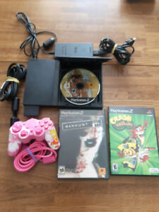 Ps2 Slim Bundle (3 Games, 1 Controller & Memory Card)