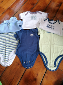 Bundle of baby boys clothes