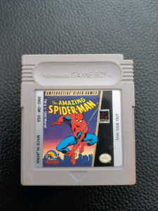 Amazing SPIDERMAN Nintendo Game Boy In excellent used condition