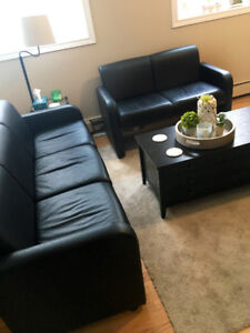 2 Black Couches For Sale $500.00