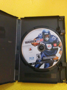 Madden NFL 07 on PS3