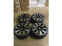 """20"""" Alloy Wheels and tyres VW T5 Transporter ."""