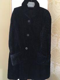 Almost vintage Astrakhan coat