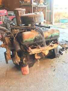 352 Ford engine and 3 speed trans with carb London Ontario image 2
