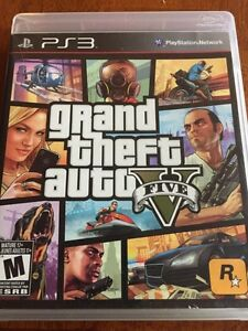 PS3 game - Grand theft auto V