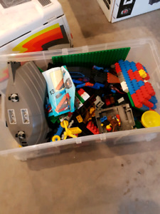 Small box of Lego