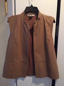 Ladies Nygard Leather vest