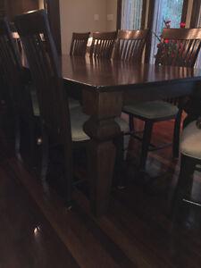 Ensemble salle à manger chêne - 10 places