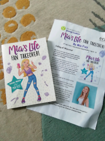Mias life fan take over book