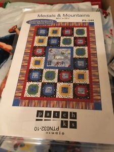 Medals and Mountains Quilt Kit