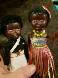 Vintage Collectable Fiji Dolls