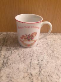 Babys First Christmas Mug