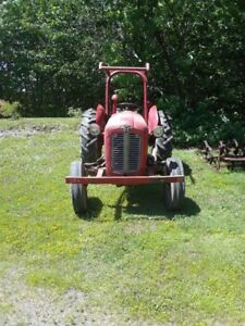 35 massy tractor and attachments