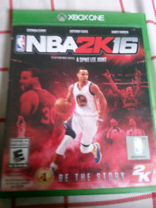NBA2K16 Video Game on Xbox One