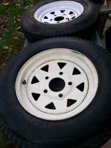 Trailor tires 12 inch Strathcona County Edmonton Area image 1