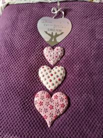 John Lewis Wall decorative heart shaped items