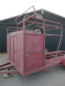 Tool Box and Tire Carrier
