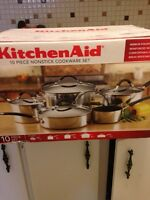 Kitchen aid pots and pans never opened