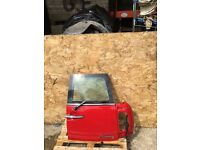 MINI R55 CLUBMAN R55 O/S REAR TAIL DOOR IN RED