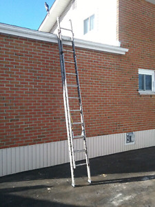 NEW PRICE $40. 24 foot extension ladder Electrical Stock.