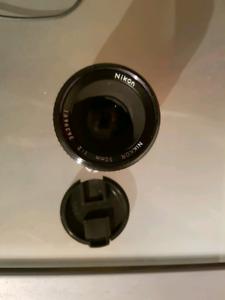 Lentille Nikon 50mm f2