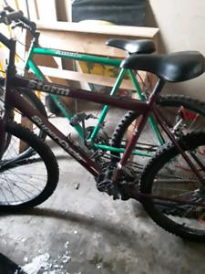 2 Vélos pour 60$ wow!