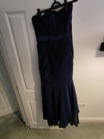 Lipsy blue ball gown dress.