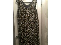 Animal print dress size 22/24