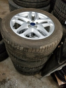 215 55 17 Michelin XIce on OEM Ford Fusion alloys 5x108 TPMS