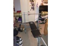 Marcy weight bench.